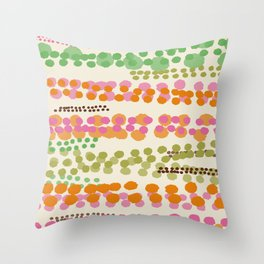 Champagne And Caviar Throw Pillow