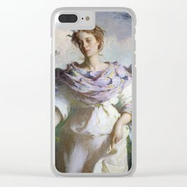 Summer by Frank Weston Benson Clear iPhone Case