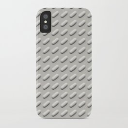 Suckin' 'em down like candy (Acetaminophen pattern) iPhone Case