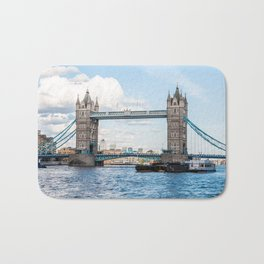 Tower Bridge, London, England Bath Mat