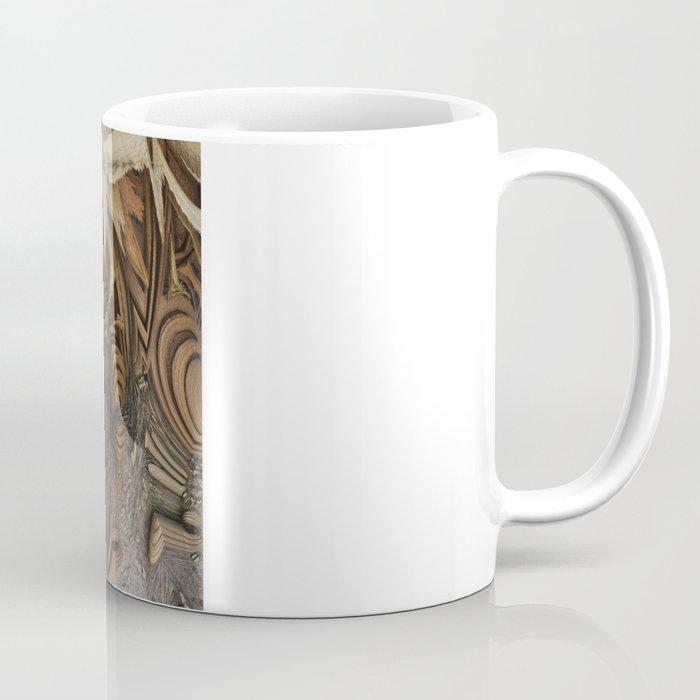 wood-chips Coffee Mug