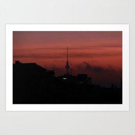 October's morning view... Art Print