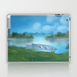 Across the mere Ellesmere Shropshire UK Laptop & iPad Skin