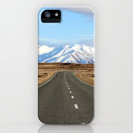 White Cap Journey iPhone Case