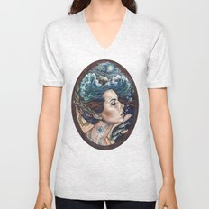 Lost At Sea Unisex V-Neck