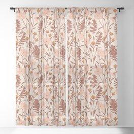 Flax Meadow II Sheer Curtain
