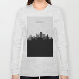 City Skylines: Raleigh Long Sleeve T-shirt