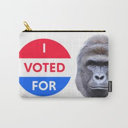 I voted for Harambe Carry-All Pouch