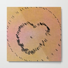 Circled by their love Metal Print