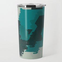 Geometric Mapping #1 • by Secret Peak Travel Mug