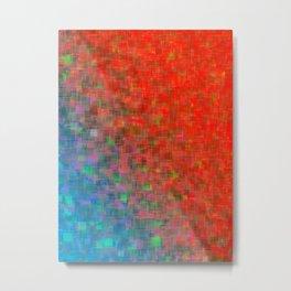 Galactic Aqua Metal Print