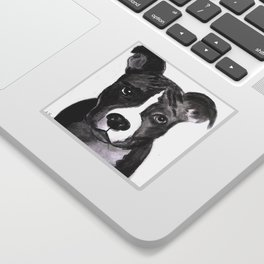 Pit Bull Dogs Lovers Sticker