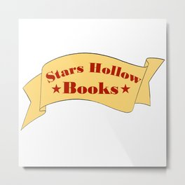 Stars Hollow Books Metal Print