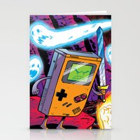 gameboy Stationery Cards featuring The Legend of Gameboy by thechrishaley