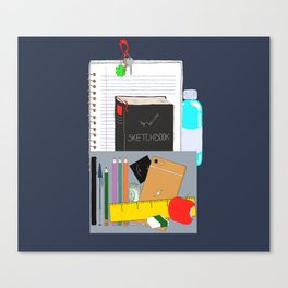 Artist's bag Canvas Print
