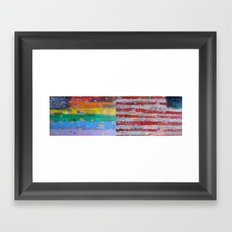 Flags for The Future 29 Framed Art Print