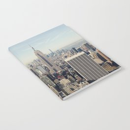 New York City Aerial View Notebook