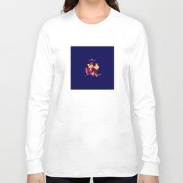 Blue Fire Long Sleeve T-shirt