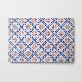 Portuguese Tiles 4 Metal Print