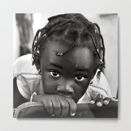 LOOKING INTO MY INNOCENT EYES Metal Print