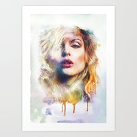 blondie Art Prints featuring Blondie by turksworks