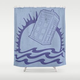 The Doctor's Brand Shower Curtain