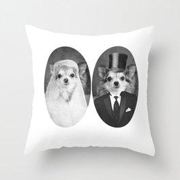 Lola's Wedding Throw Pillow