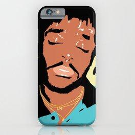 Lil Uzi Portrait (Yellow) iPhone Case