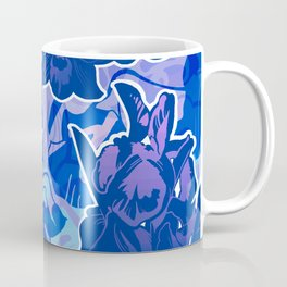 Lavender, Orchid, and Iris Coffee Mug