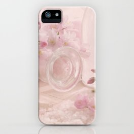 Almond blossoms in Vintage Style iPhone Case