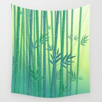serenity Wall Tapestries featuring Serenity by Natalia Linn