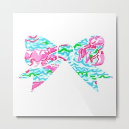Lilly Pulitzer Bow Metal Print