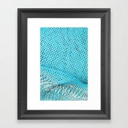Fishing nets Framed Art Print