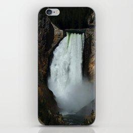 Yellowstone River Falls iPhone Skin