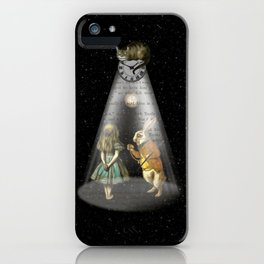 A Portal To Wonderland - Alice In Wonderland iPhone Case