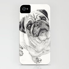 Seymour the Pug Slim Case iPhone (4, 4s)