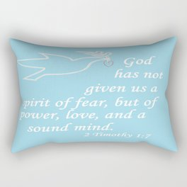 No Spirit of Fear Rectangular Pillow