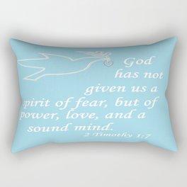 No Spirit of Fear Rectangular Pillow