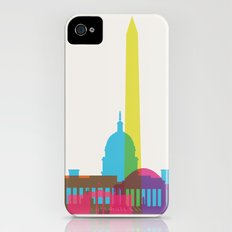Shapes of Washington D.C. Accurate to scale Slim Case iPhone (4, 4s)