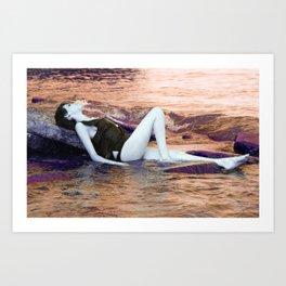 Serenity Sunrise Art Print