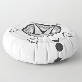 Elemental Pentagram Floor Pillow