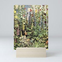 12,000pixel-500dpi - Jessie Willcox Smith - A Child's Garden Of Verses - Digital Remastered Edition Mini Art Print