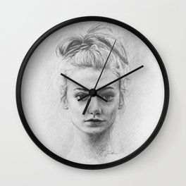 Serenity's Composure Wall Clock