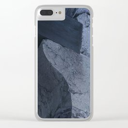 Structural element from ancient greece architecture Clear iPhone Case