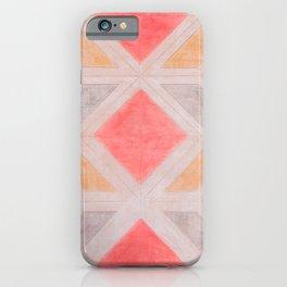 Boho Harlequin Pattern iPhone Case