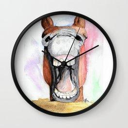Happy Horse Wall Clock