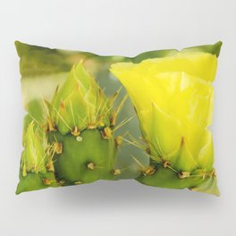 Englemann's Prickly Pear Bud to Bloom Pillow Sham