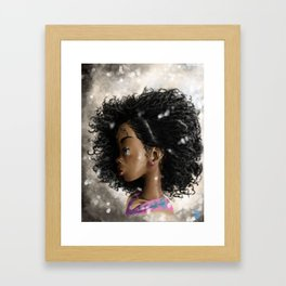 Little Princess Framed Art Print