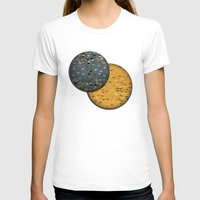 sun and moon T-shirts featuring Sun &  Moon by Jonathan Knight