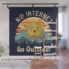 No Internet Vibes! Wall Mural